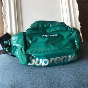 Supreme Waist Bag FW 17 in Teal